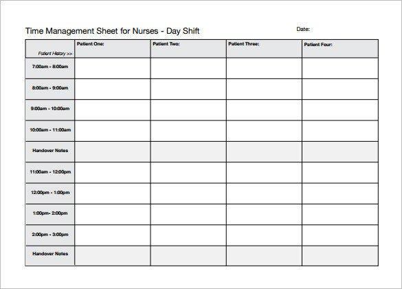 Shower Schedule Nursing Home 5 Nursing Schedule Templates Docs Excel Pdf
