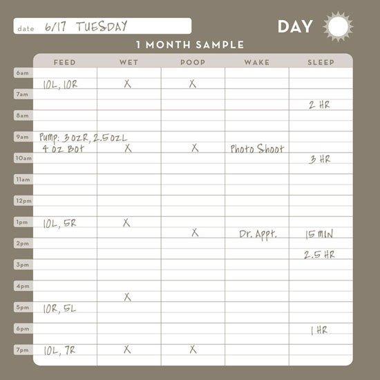 Shower Schedule Nursing Home Baby