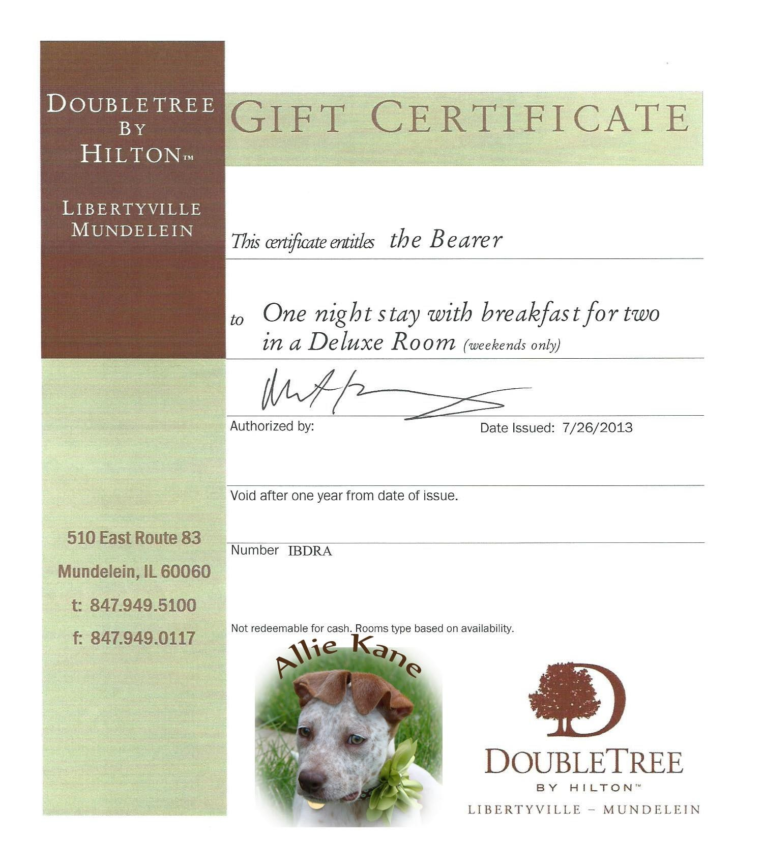 Silent Auction Gift Certificate Template Gift Template Category Page 3 Efoza