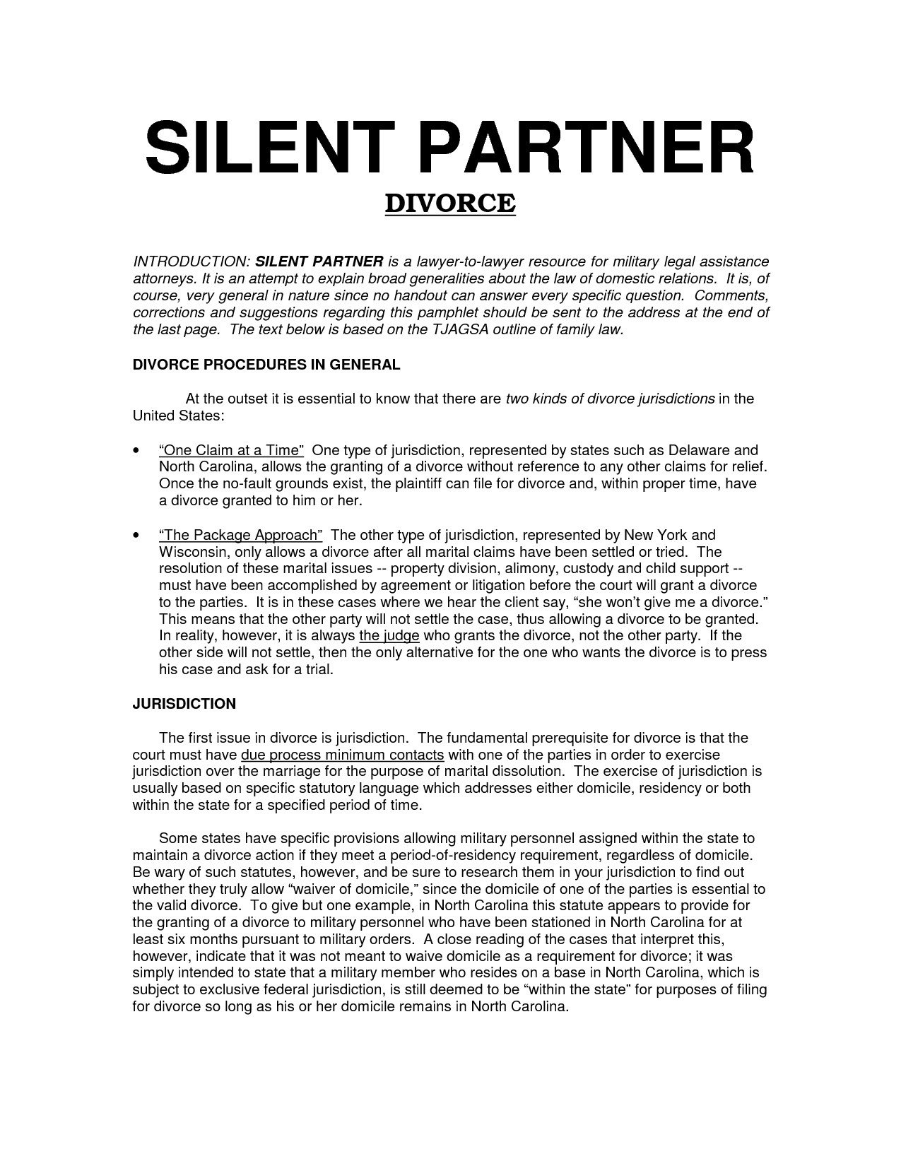 Silent Investor Agreement Silent Partnership Agreement Template Perfect Free Silent