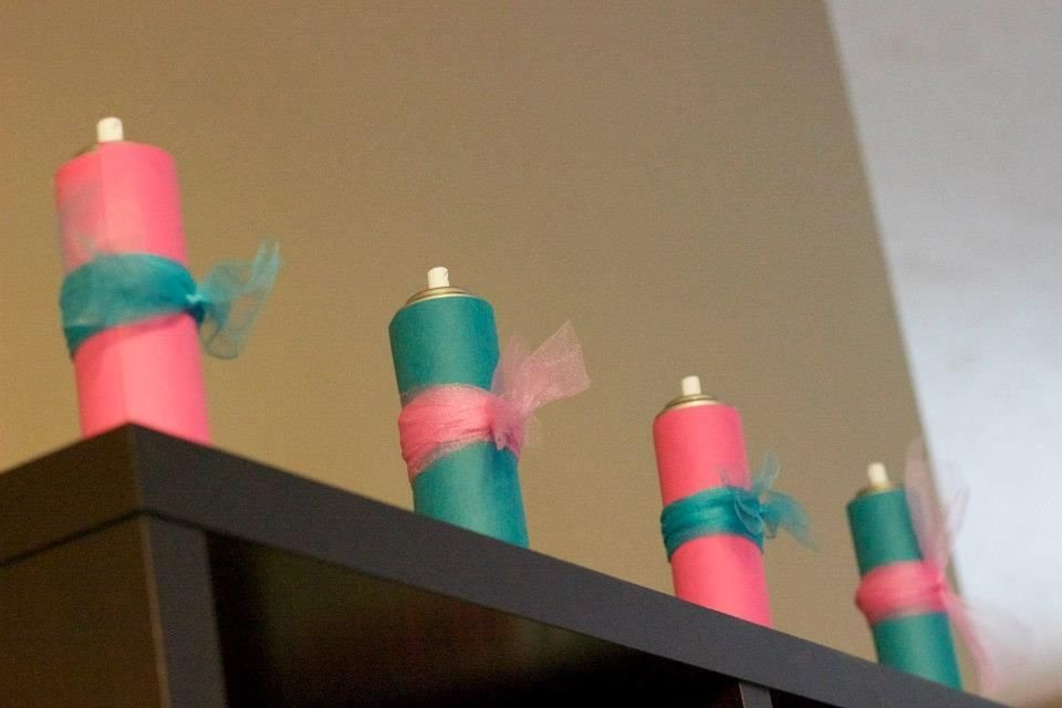 Silly String Gender Reveal Template Gender Reveal Silly String Party Ideas