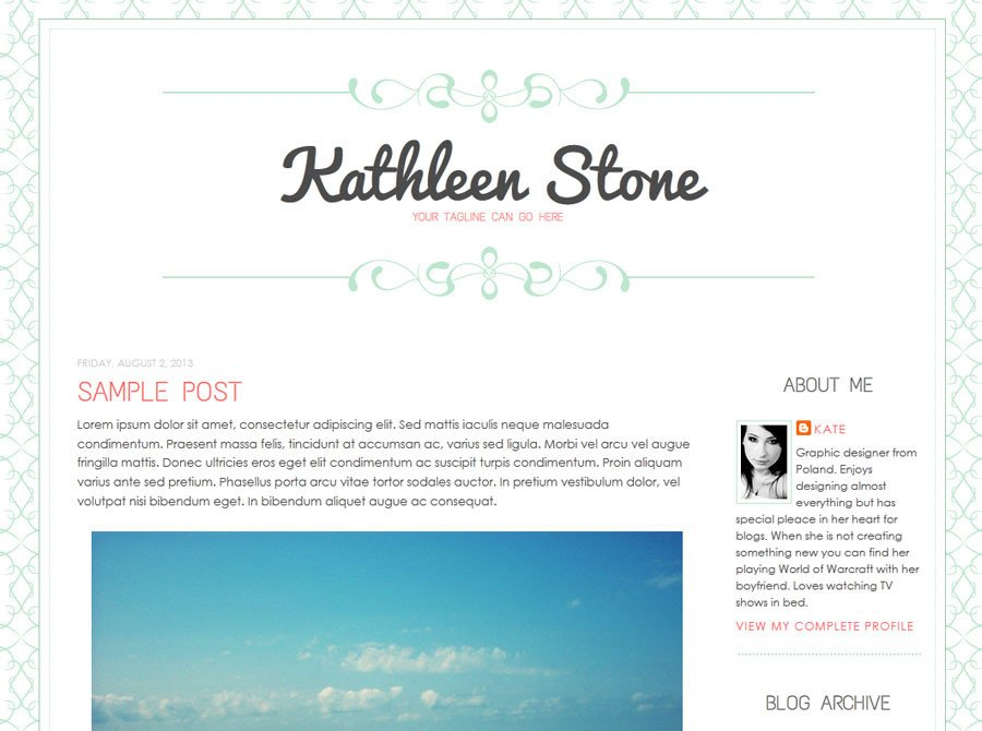 Simple Blogger Templates Free New Blogger Templates Designer Blogs