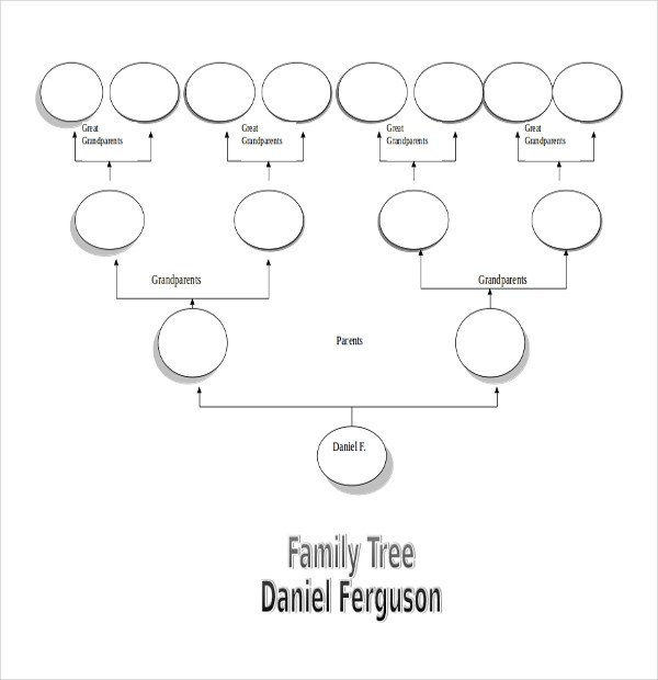 Simple Family Tree Template 51 Family Tree Templates Free Sample Example format