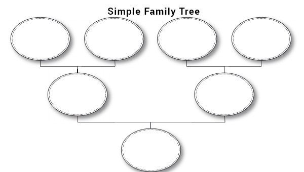 Simple Family Tree Template Family Tree Template