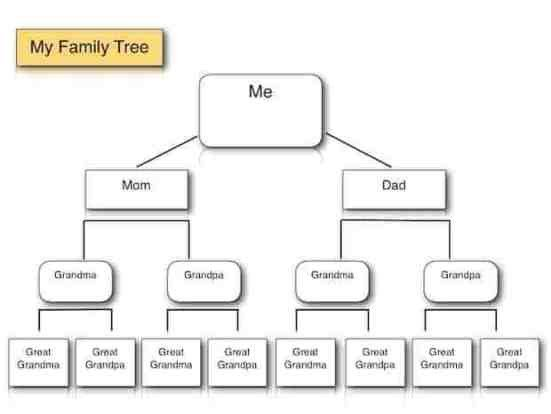 Simple Family Tree Template Family Tree Templates Find Word Templates