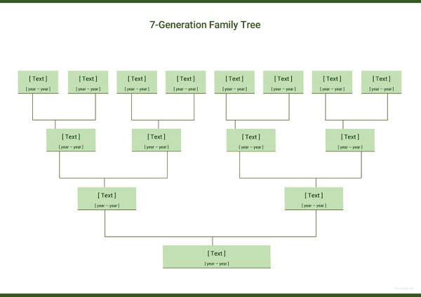 Simple Family Tree Template Simple Family Tree Template 27 Free Word Excel Pdf