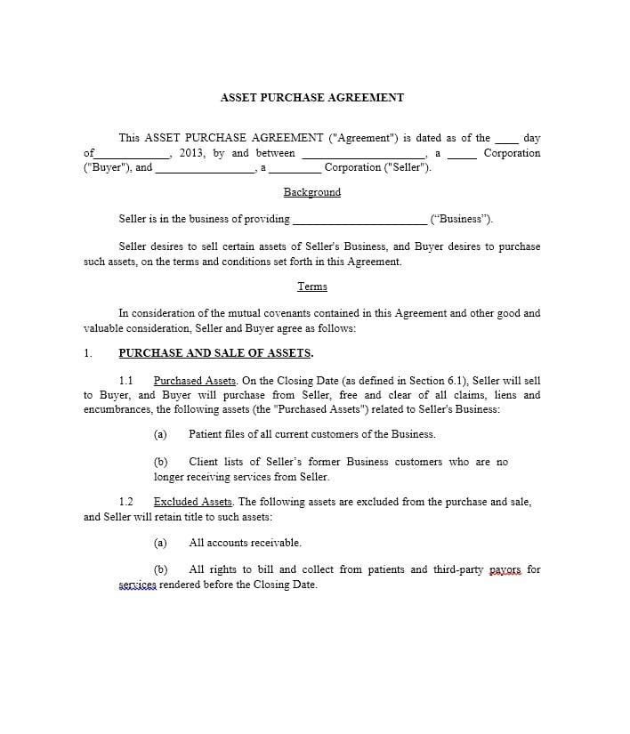 Simple Purchase Agreement Template 37 Simple Purchase Agreement Templates [real Estate Business]