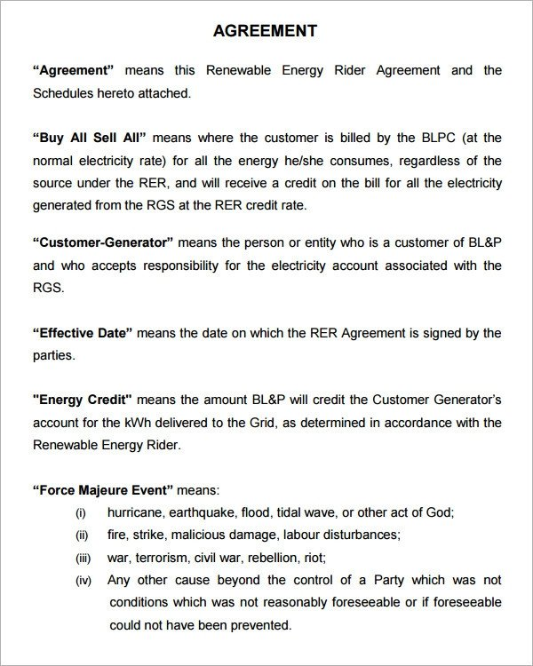 Simple Purchase Agreement Template Purchase Agreement 9 Download Documents In Pdf Word