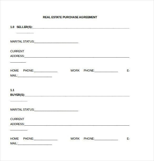 Simple Purchase Agreement Template Purchase Agreement Template 28 Free Word Pdf Document