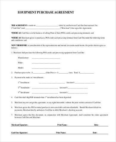 Simple Purchase Agreement Template Simple Agreement forms 31 Free Documents In Word Pdf