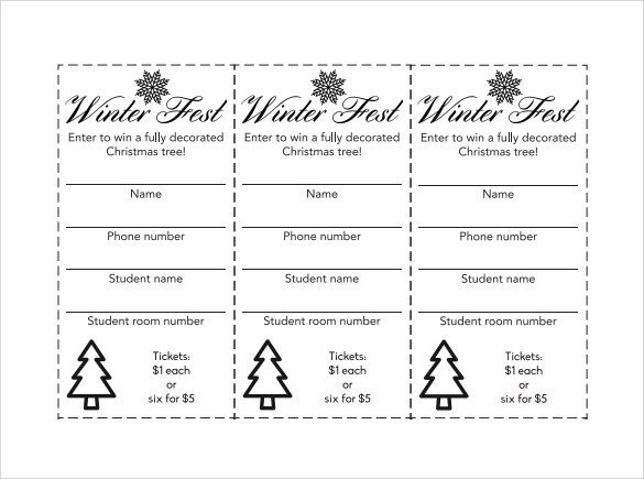 Simple Raffle Ticket Template 31 Raffle Ticket Templates Pdf Psd Word Indesign