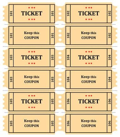 Simple Raffle Ticket Template 32 Best Images About Raffle Flyer and Ticket Templates On