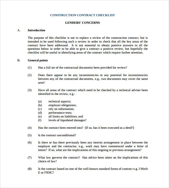 Simple Roofing Contract Template Construction Contract 9 Download Documents In Pdf