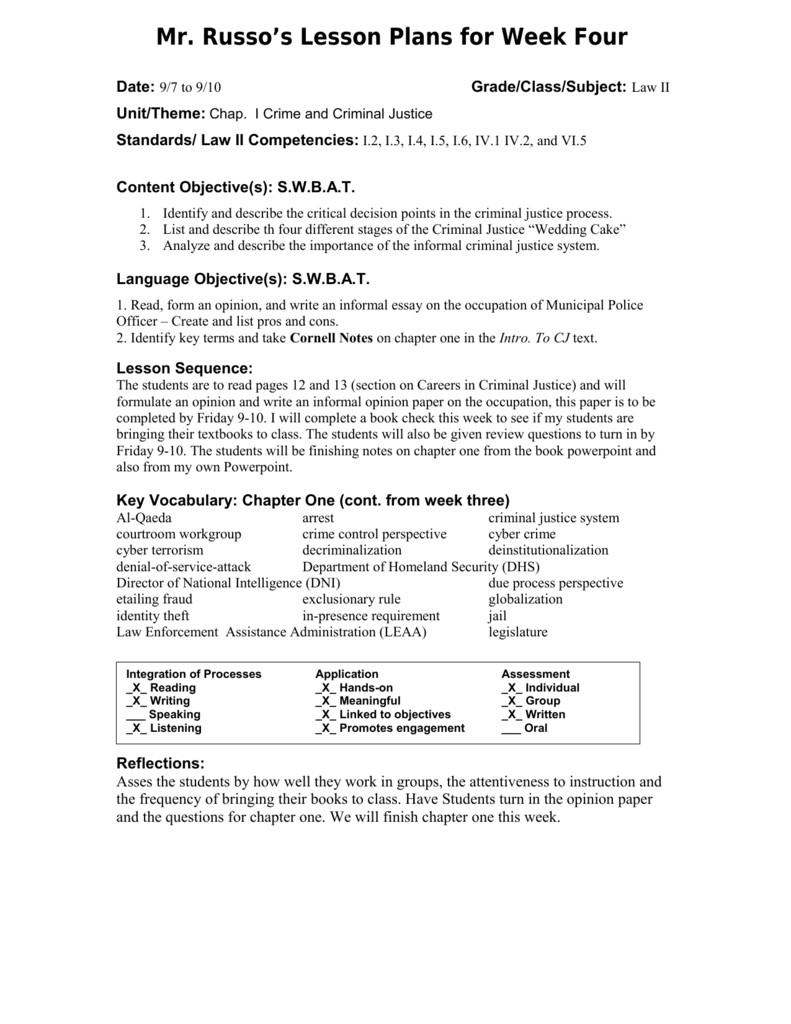Siop Lesson Plan Template 2 Siop Lesson Plan Template 1