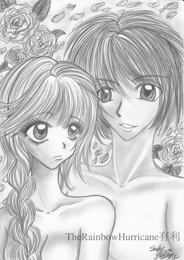 Sketch Of A Girl Pencil Drawing Boy and Girl by Yuuricchin On Deviantart