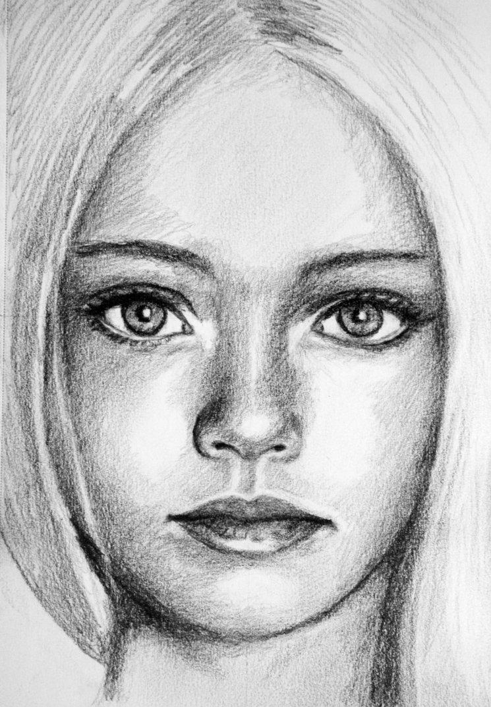 Sketch Of A Girl Pretty Girl Sketch by Pmucks On Deviantart
