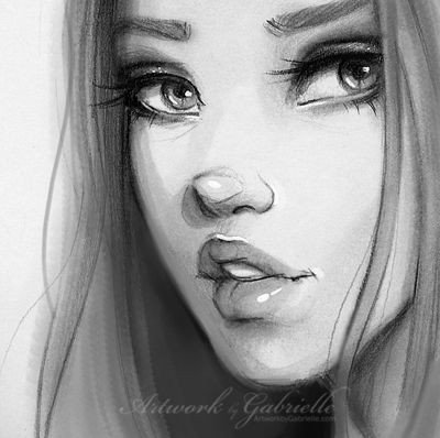 Sketch Of Girl Face 17 Best Ideas About Girl Face Drawing On Pinterest