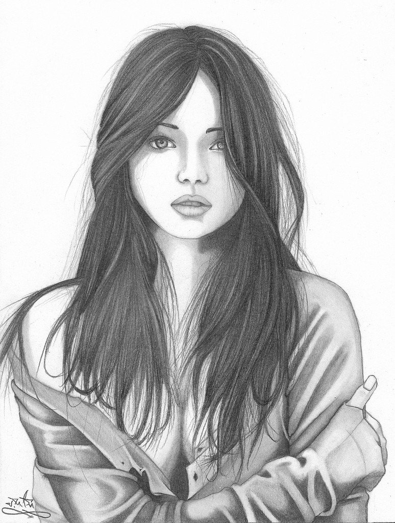 Sketch Of Girl Face Beautiful Paintings Search Result at Paintingvalley
