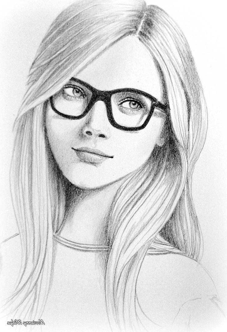 Sketch Of Girl Face Easy Realistic Pencil Sketching Easy Pencil Drawings