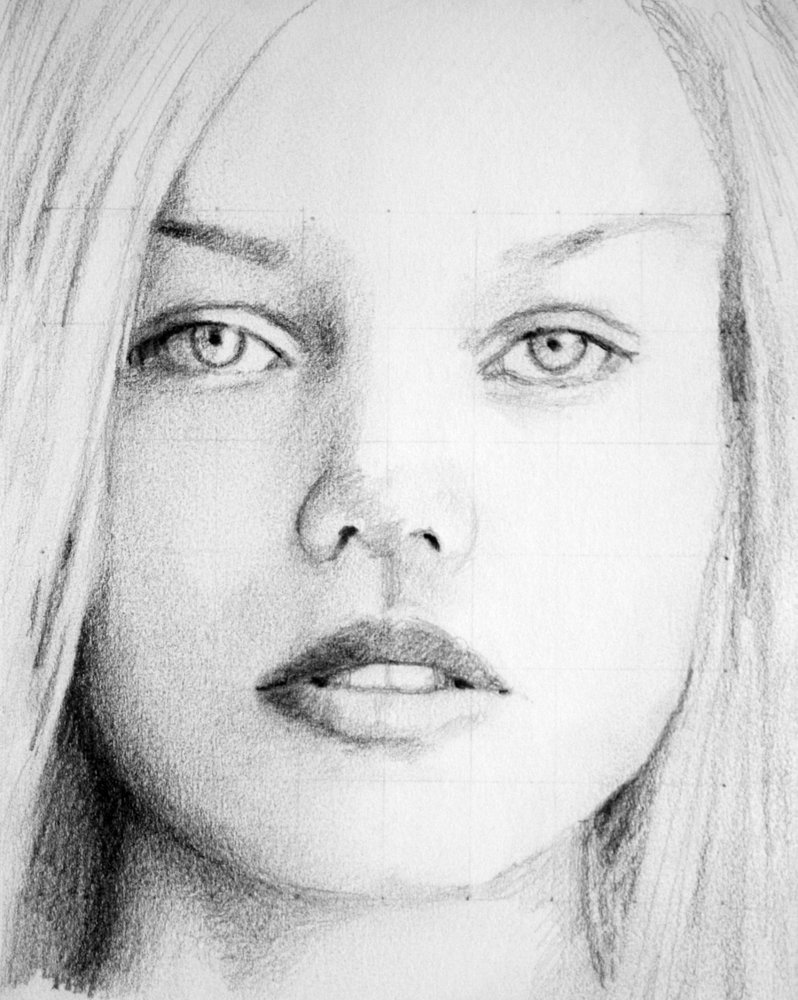 Sketch Of Girl Face Sketch Female Face by Pmucks On Deviantart