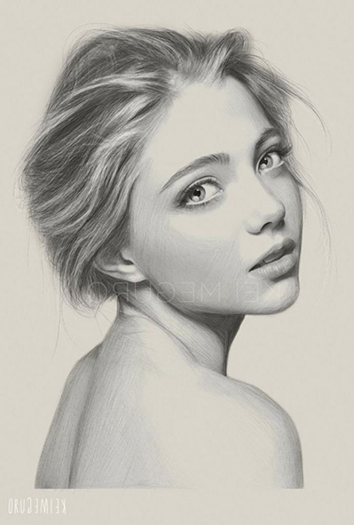 Sketch Of Girl Face Sketch Realistic Face 1000 Ideas About Drawing Faces