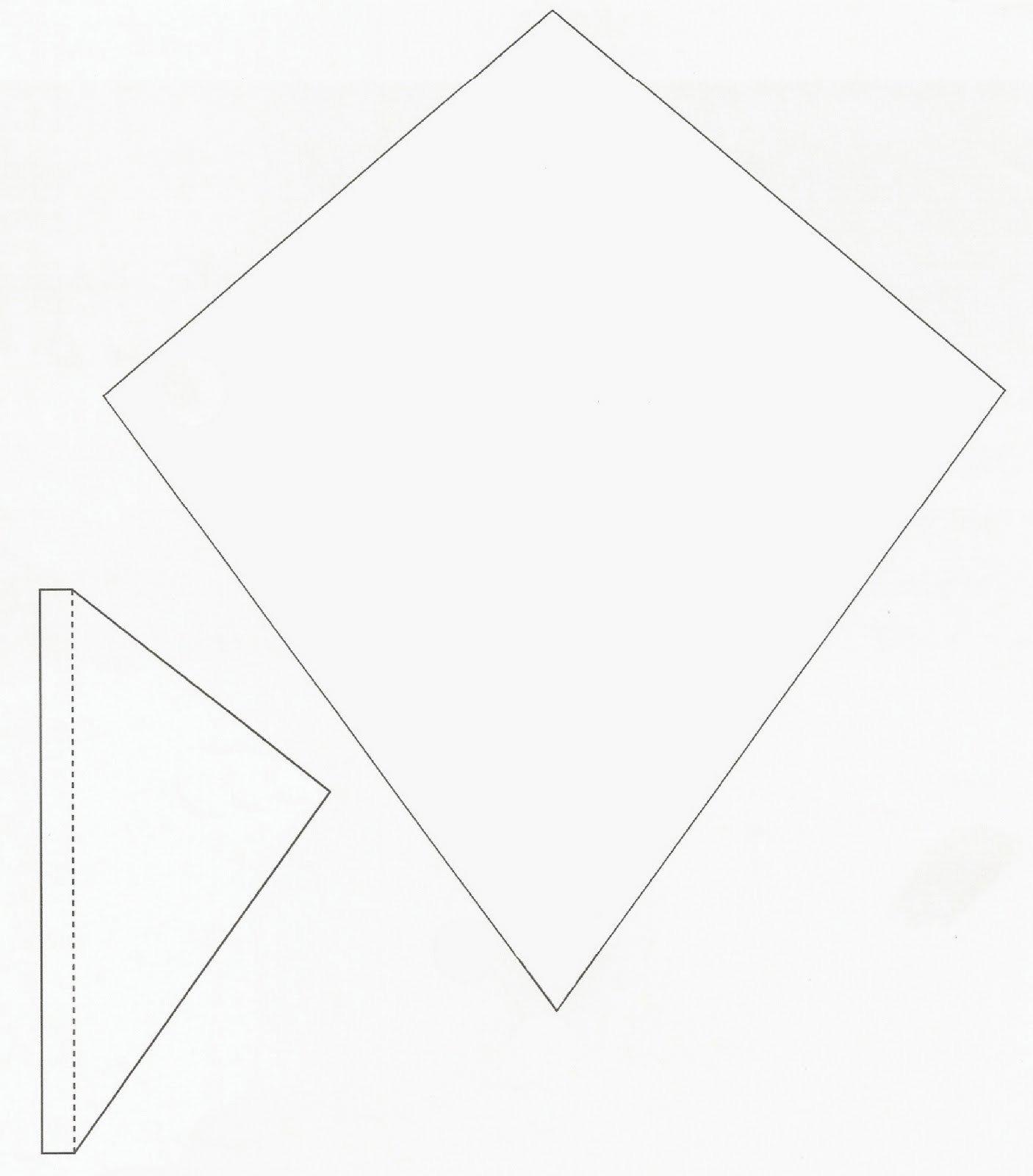 Small Kite Template Express Your Creativity Tar Bag Kites