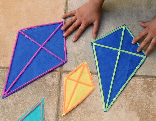 Small Kite Template Kites and Curious George with Creative Jewish Mom