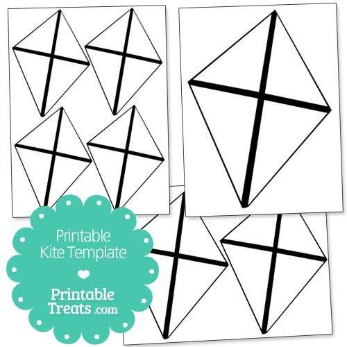Small Kite Template Printable Kite Template From Printabletreats