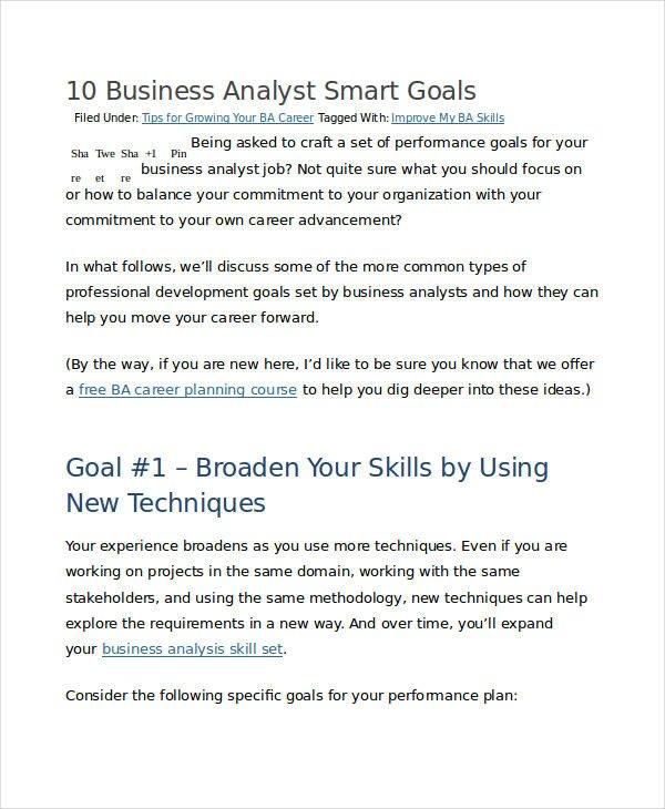 Smart Nursing Goals Examples 30 Smart Goals Examples & Samples Pdf Doc