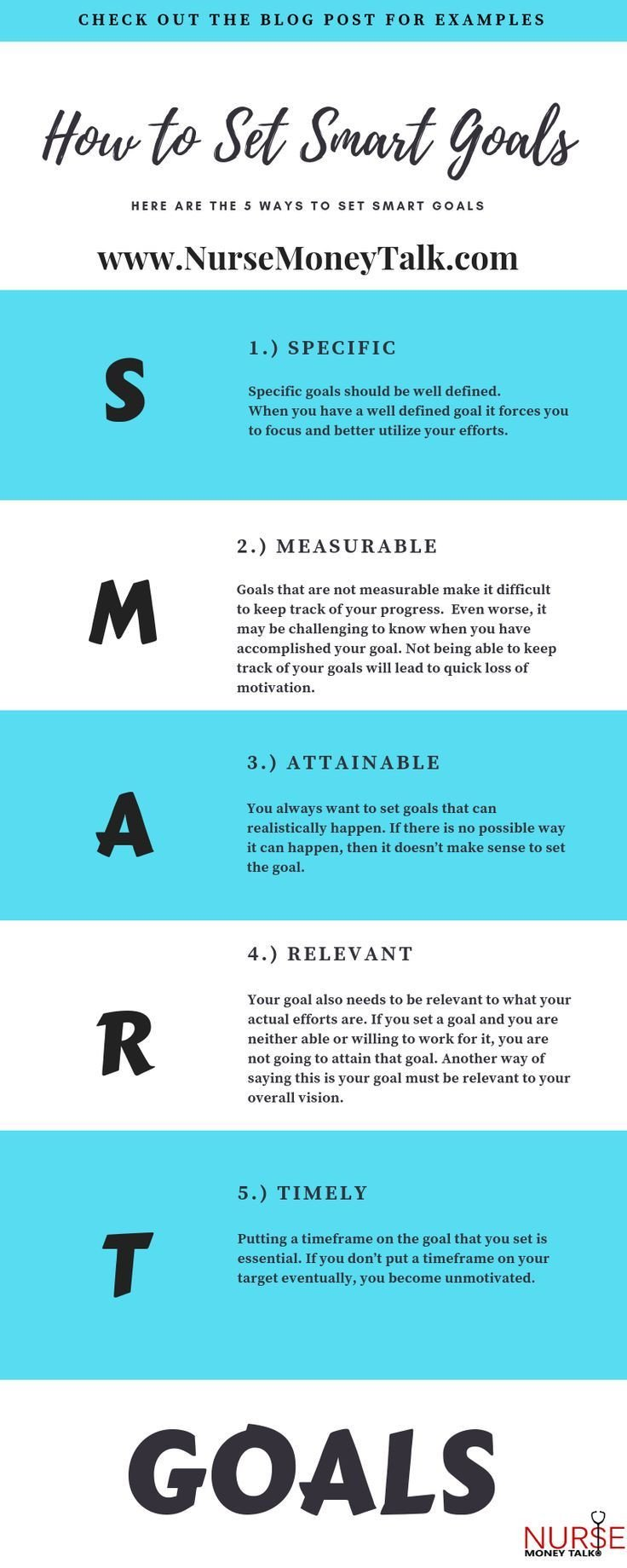 Smart Nursing Goals Examples How to Set Smart Goals In Nursing Goal Setting