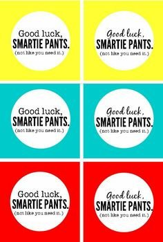 Smartie Pants Printable Template Smartie Diploma Template