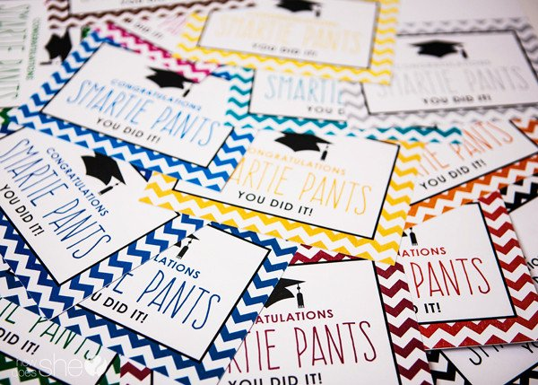 Smartie Pants Template Exclusive Free Graduation Printables Howdoesshe