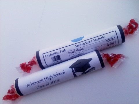 Smarties Diploma Wrapper Template 45 Smarties Candy Wrappers Via Etsy