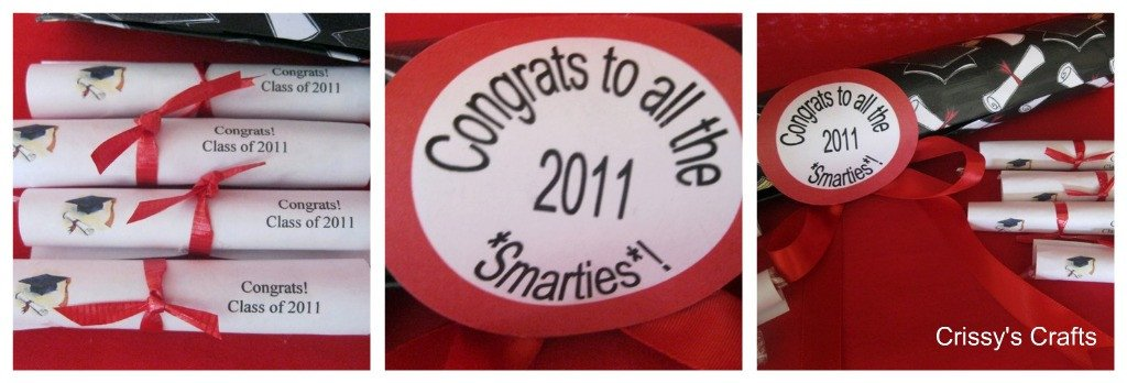 "Smarties Diploma Wrapper Template Crissy S Crafts Congrats to All 2011 ""smarties"""