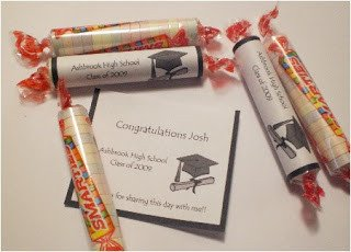 Smarties Diploma Wrapper Template Favors for Me