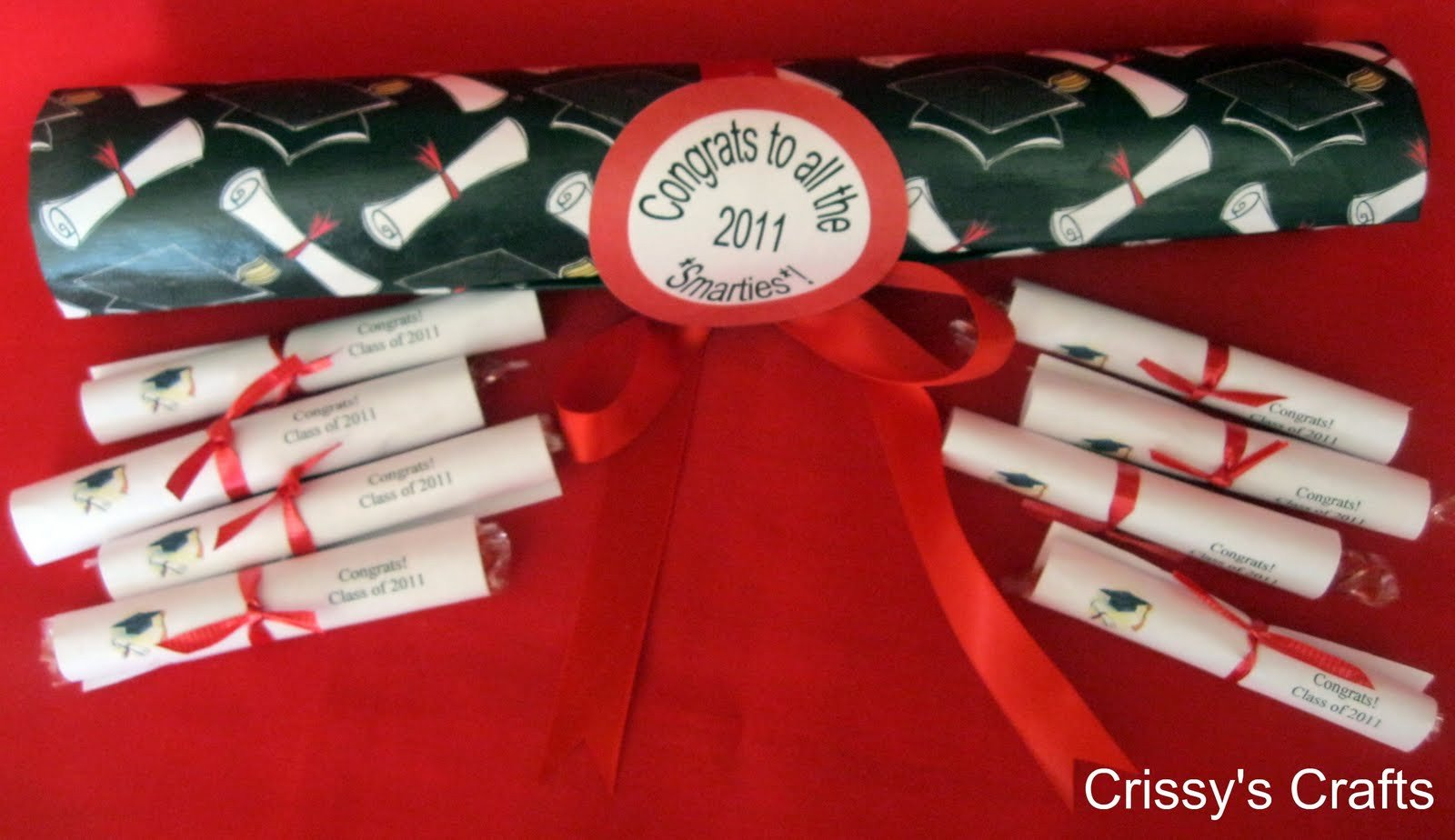 Smarties Diploma Wrapper Template Make Smarties Diploma Graduation Favors Dollar Store Crafts