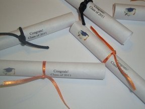 Smarties Diploma Wrapper Template Smarties Diploma Printable