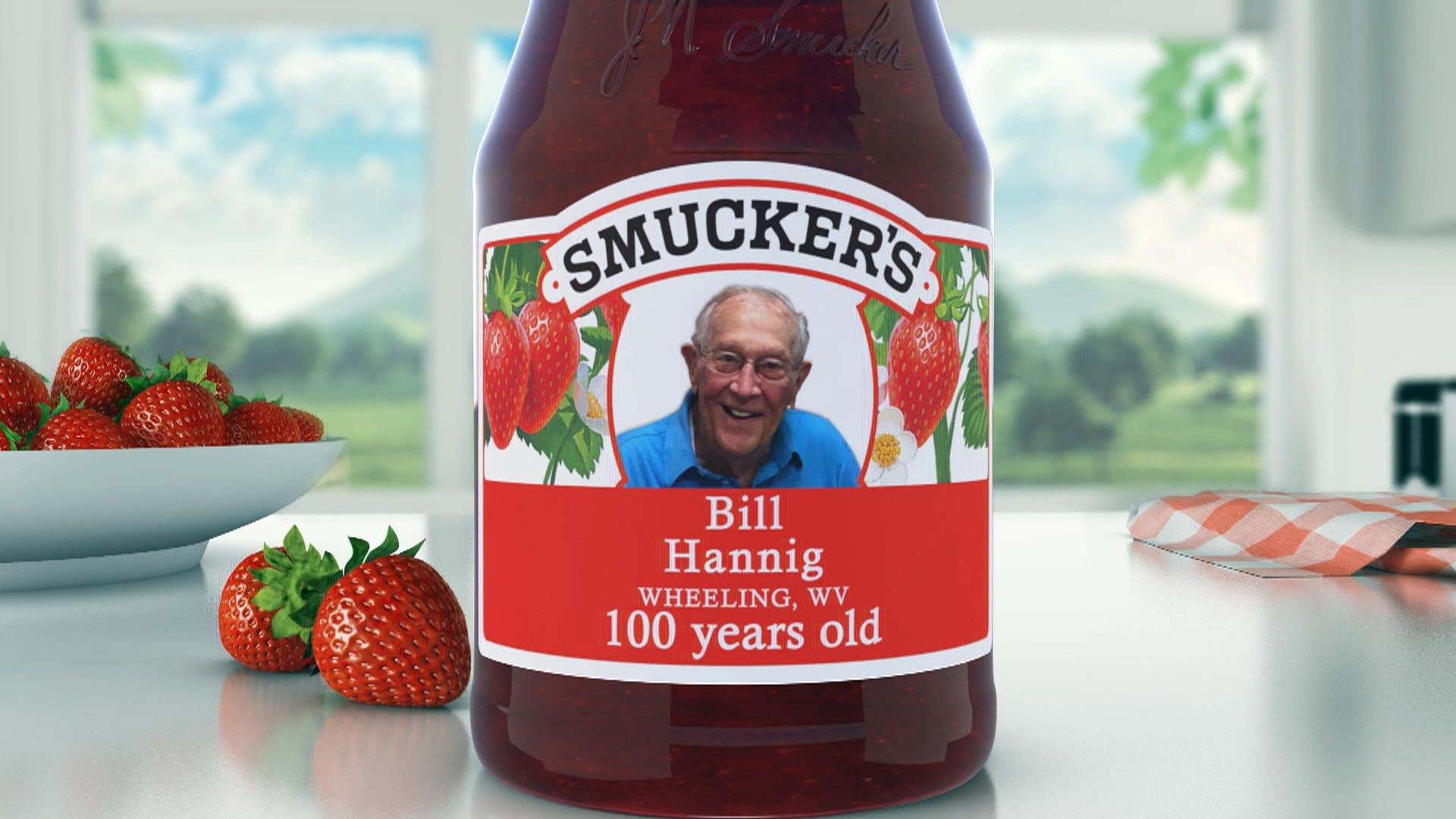 Smuckers Birthday Label Template 100th Birthday Celebrations On today Nominate A Loved One