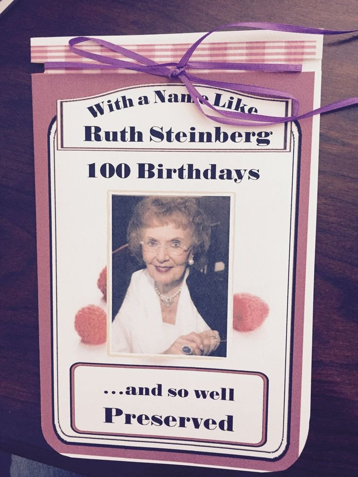 Smuckers Birthday Label Template 115 Best 100th Birthday Celebration Images On Pinterest