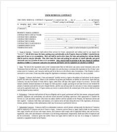 Snow Plow Contracts Templates Simple Snow Plowing Contract Template Shut Up