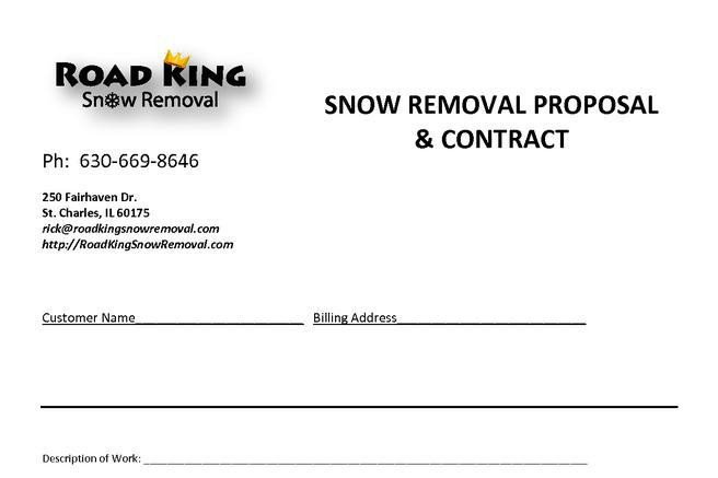 Snow Removal Contracts Templates 20 Snow Plowing Contract Templates Free Download