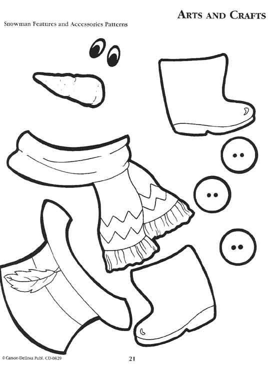 Snowman Scarf Template 29 Of Melted Snowman Template