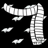 Snowman Scarf Template Abeka Clip Art