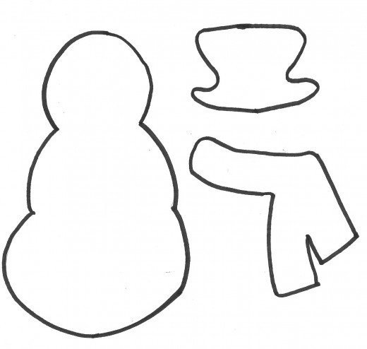 Snowman Scarf Template How to Make A Snowman Gift Bag A Printable Pattern and