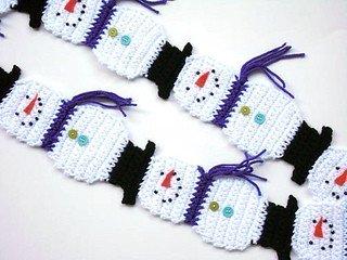 Snowman Scarf Template Ravelry Snowman Scarf Pattern by Diane Langan