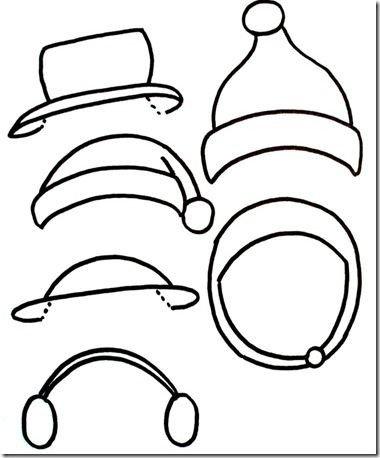 Snowman Scarf Template Snowman Snowman Hat and Hats On Pinterest