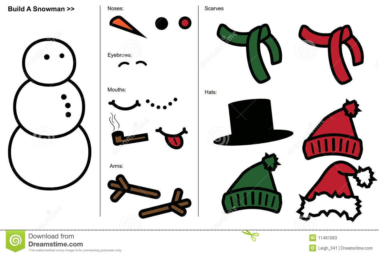 Snowman Scarf Template Template Printable Gallery Category Page 46