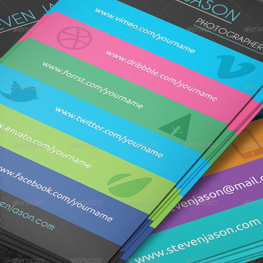 Social Media Business Card social Media Business Card No 2 by Scopulus