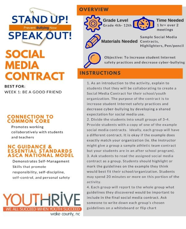 Social Media Contracts Templates 3 social Media Contract Templates Pdf