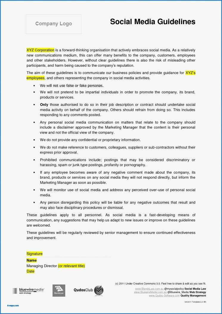 Social Media Management Contract 71 New Gallery social Media Management Contracts